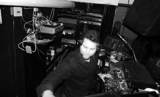 DJ Patrick Saccoccia performing
