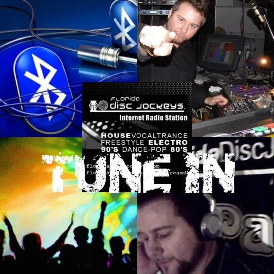FloridaDiscJockeys radio TUNE IN w DJ Patrick
